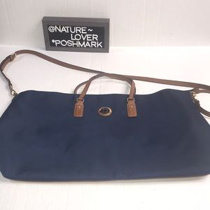 Tommy Hilfiger XL blue travel tote